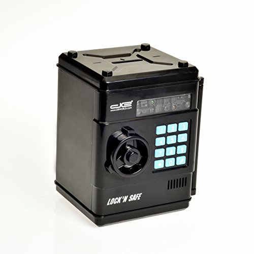 Intelligent Voice Mini Safe and Coin Vault for
