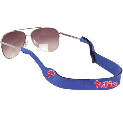 (MLB Philadelphia Phillies Neoprene Retainer Sunglasses Holder - Royal Blue)