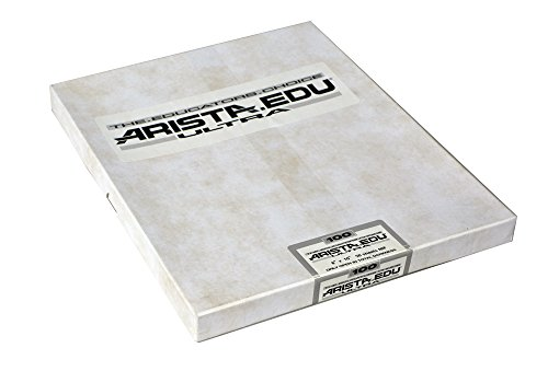 Arista EDU Ultra 100 ISO Black & White Film, 8x10, 50 Sheets by Arista