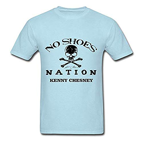 Kenny Chesney T-shirt - Sun-Tshirt Adult Kenny Chesney No Shoes Nation Summer Tees
