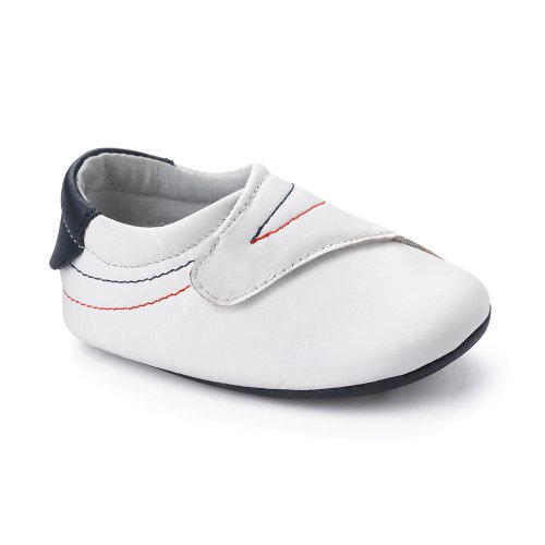 Bobux 460675 - Zapatos, unisex Weiß (white 3)