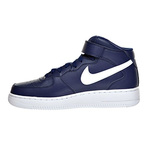White M Homme Force Midnight 315123 Nike Mid 407 1 12 D US Air '07 Chaussures Navy g6zxBqz