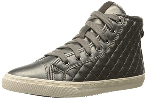Geox Women's New Club High Top Sneaker Fashion Sneaker