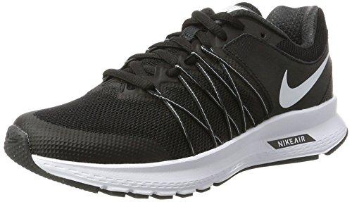 Nike Wmns Lucht Meisje Meedogenloze 6 Loopschoenen Zwart (zwart / Wit-antraciet)