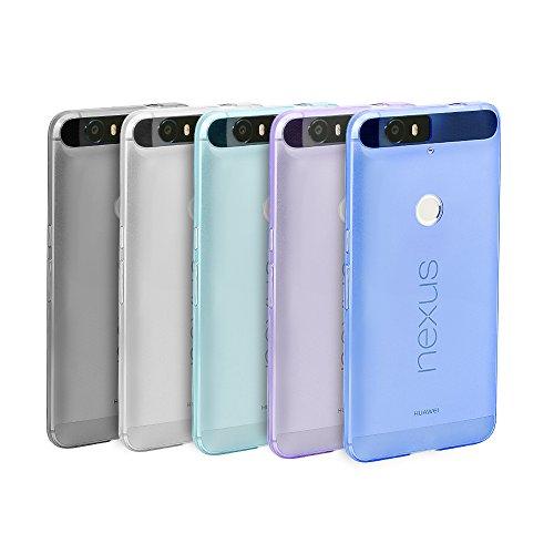 Nexus 6P Case, 5 Pack Ace Teah™ Ultra Thin Slim Clear Back ...