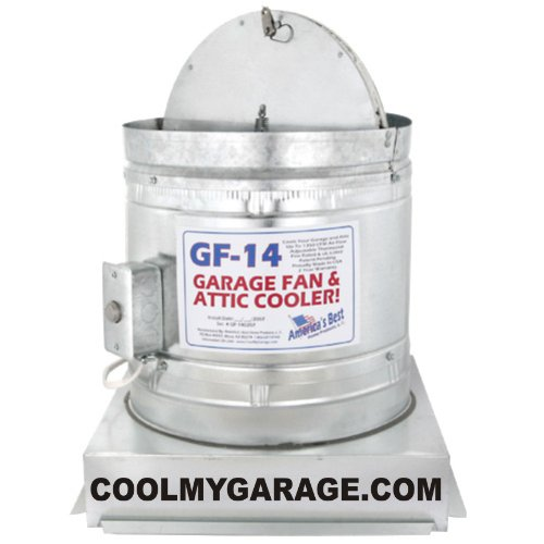 GF-14 Garage Fan and Attic Cooler
