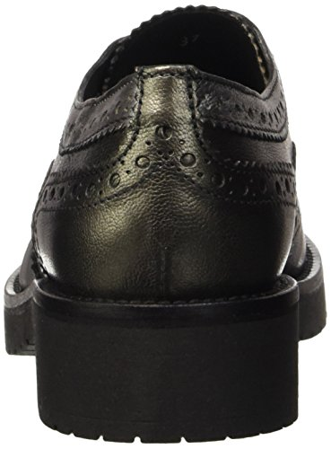 Pennyblack Scultura, Zapatos de Cordones Derby para Mujer Antracita