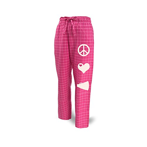 ChalkTalkSPORTS Cheer Lounge Pants Peace Love Cheerleading