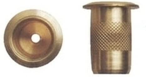 8 mm Sipa 4//151 Pozzetti Ottone Senza Molla Set di 100 Pezzi