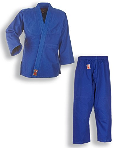 """Judoanzug Judogi""""to start"""" blau mit Weißgurt für Kinder und Anfänger, 9002, 110-200"""