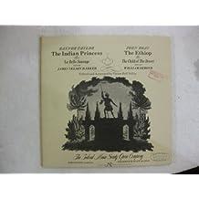 John Bray the Indian Princess Raynor Taylor the Ethiop Vinyl