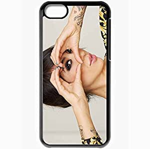 Personalized iPhone 5C Cell phone Case/Cover Skin Alie Layus Black