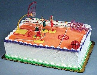 Basket Ball Kit Cake Decorating Kit CupCake Decorating Kit Sports Toys