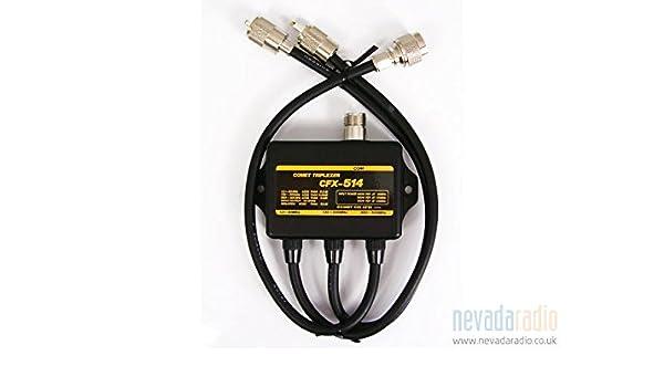 COMET CFX-514 Triplexer 1.3-90//130-200//380-500MHz