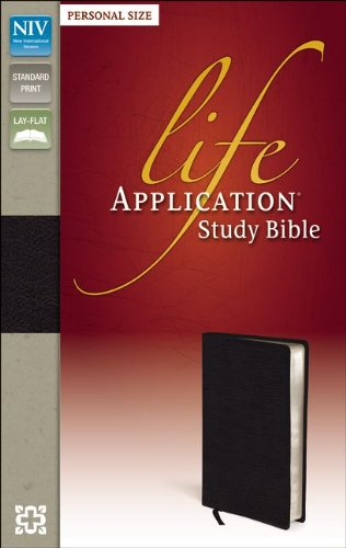 (NIV, Life Application Study Bible, Personal Size, Bonded Leather,)