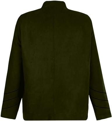 Chaqueta Suéter Para Hombre Oversize Abrigo Negro Retro ...