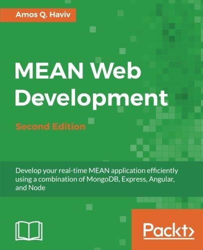 MEAN Web Development - Second Edition ebook