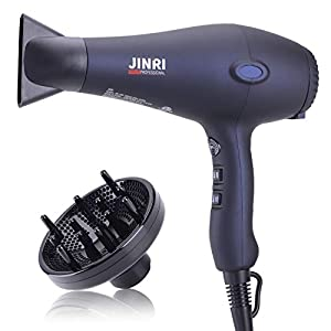 JINRI 1875W Professional Salon Grade Hair Dryer