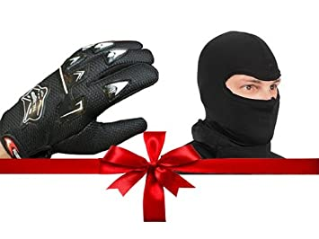 d3738d3b4a9 Knighthood Combo of Gloves and Balaclava Face Mask  Amazon.in ...