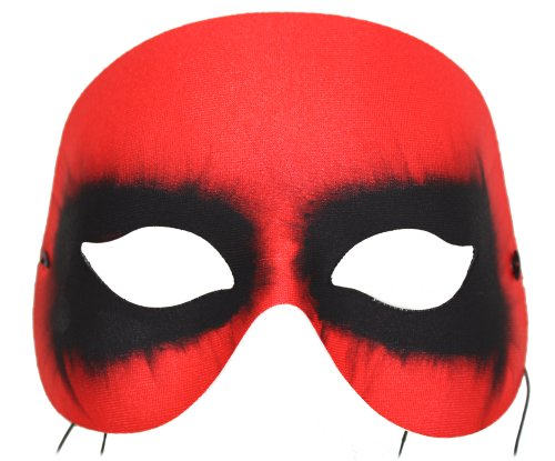 Success Creations Diablo Devil Red Hand-Painted Masquerade Mask