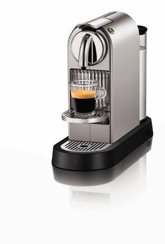 Nespresso Citz D110 Espresso Machine, Silver Chrome