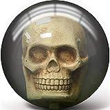 Pyramid Clear Skull Bowling Ball (14)
