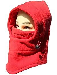 Women's Windbreak Warm Fleece Neck Hat Winter Ski Full Face Mask Cover Cap
