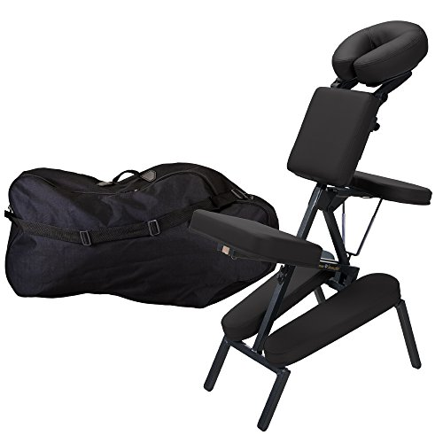 Inner Strength Portable Massage Chair Package Element - Incl. Deluxe Adjustable Face Cradle, Pillow & Soft Carrying Case (Inner Strength Element Portable Massage Table Package)