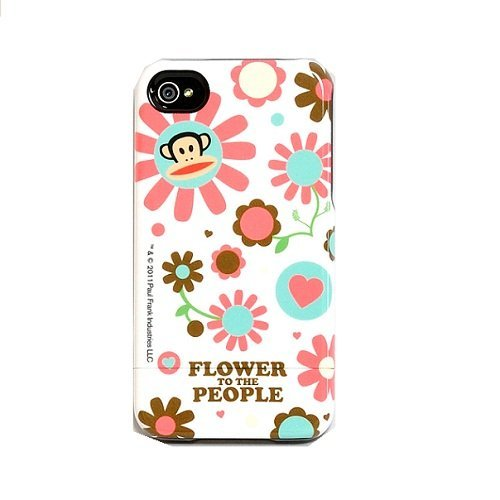 Paul Frank Flower to the People Capsule Case for iPhone ()