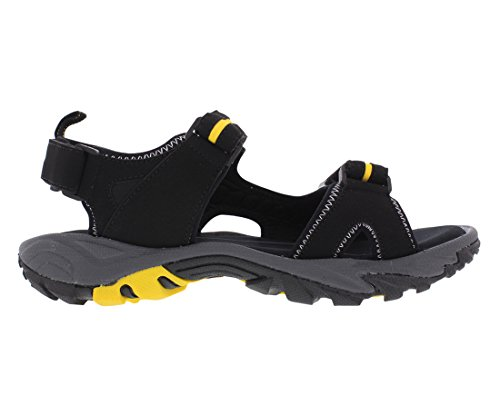 Osoyoos Pacific Mountain Comfort Outdoor Sandal Nero / Giallo
