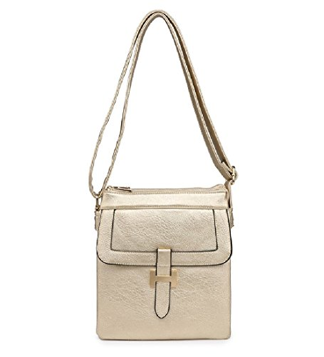 Messenger Bag Handbag Women's Body Gold Cross MA34955 Front Travel Ladies TfBYSS