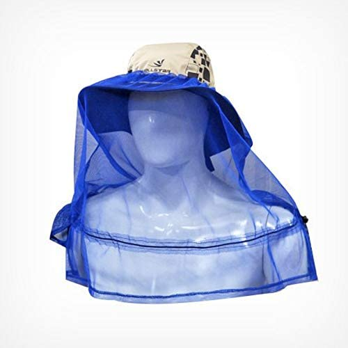 Naska Face Keeper 防虫日よけ付き 保護帽子 防虫ネットメッシュ カバー ヘッドフェイスプロテクター 帽子の上から被るタイプ 紫外線対策 園芸 農作業 釣り ハイキング アウトドア ガーデニング