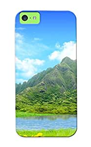 Chistmas' Gift - Cute Appearance Cover/tpu RRzgqki3327LvWJA Lake In The Valley Case For Iphone 5c
