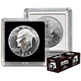 2x2 Coin Snap Holder Large Dollar (38.1mm) Bundle of 25 by BCW