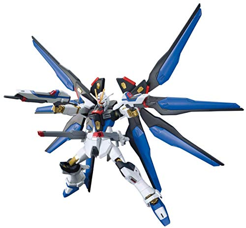 - HGCE 201 aircraft movement soldier Gundam SEED DESTINY strike freedom Gundam 1 / 144 scale color plastic model.