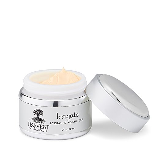 Lycopene Facial Moisturizing Lotion - Harvest Natural Beauty - Organic Face Moisturizer - Irrigate Hydrating Vegan Moisturizer - Prevent and Reverse Wrinkles - All Natural, Non-Toxic, and Cruelty Free