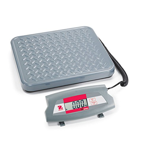 Ohaus 83998235 Steel SD Economical Shipping Bench Scale, 75kg x 0.05kg by Ohaus