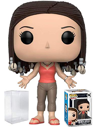 Funko Pop! Television: Friends - Monica Geller Vinyl Figure (Bundled with Pop Box Protector Case)