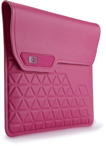 Komen Laptop Bag - Case Logic SSAI-301 Pink Welded TPU Sleeve for iPad 2/3, Pink
