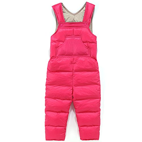 - Baby Boy Girl One Piece Sleeveless Snowsuit Toddler Warm Romper Jumpsuit Rose 90