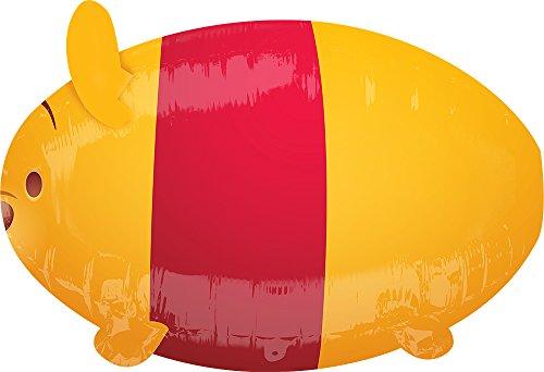 Anagram 82611 Winnie the Pooh Tsum Tsum Mylar Balloon, Orange/Red]()