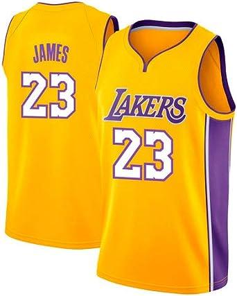 Victorem Lebron James #23 Camiseta de Baloncesto para Hombres ...