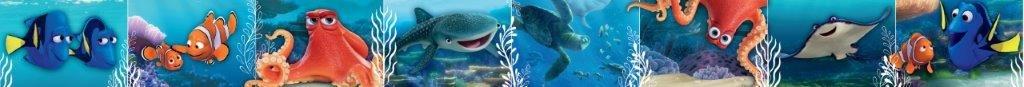 Disney Nemo & Dory - Bordo adesivo cameretta 10, 6x500 cm TocTocShop