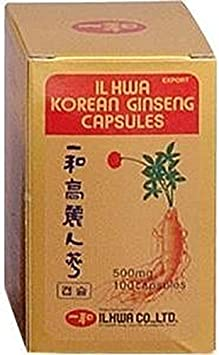 Image ofGinseng Il Hwa Tarro 100 cápsulas de Tongil