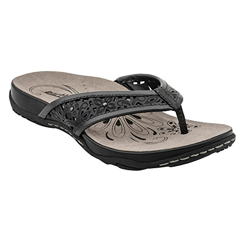 Earth Women Leather Thong Sandal