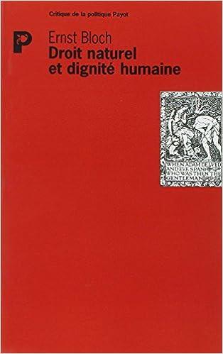 Télécharger en ligne Droit naturel et dignité humaine pdf, epub ebook