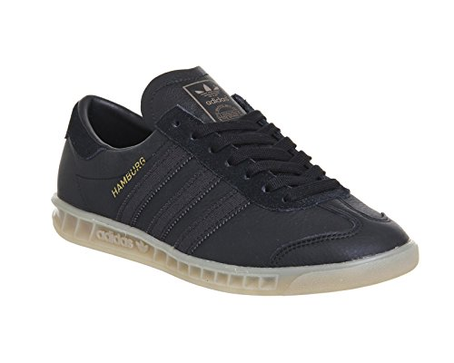 adidas Hamburg Scarpa 7,5 black/black/gum
