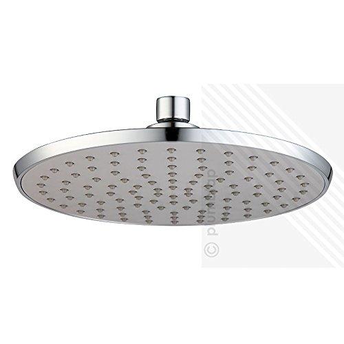Arian Bathroom Modern Round Shower Overhead Large Swivel Rain Drencher 200mm