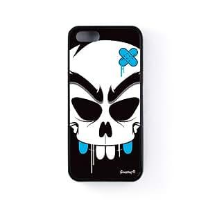 Deff Funda Protectora Snap-On en Silicona Negra para Apple® iPhone 5 / 5s de Gangtoyz + Se incluye un protector de pantalla transparente GRATIS