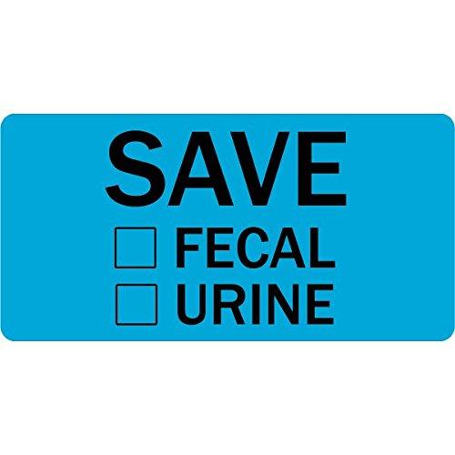 Save Stool Urine Veterinary Labels LV-VET-163
